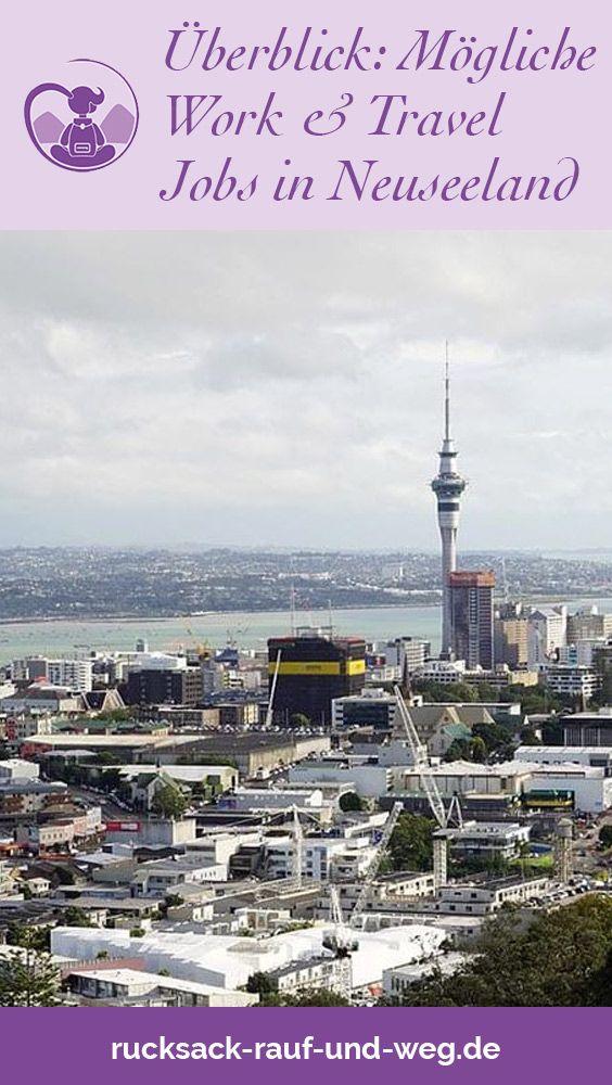 Was arbeiten wenn man Work and Travel macht? Eine Auflistung verschiedener Jobs für Backpacker in Neuseeland. #neuseelandtipps #backpacking #workandtravel #jobtips