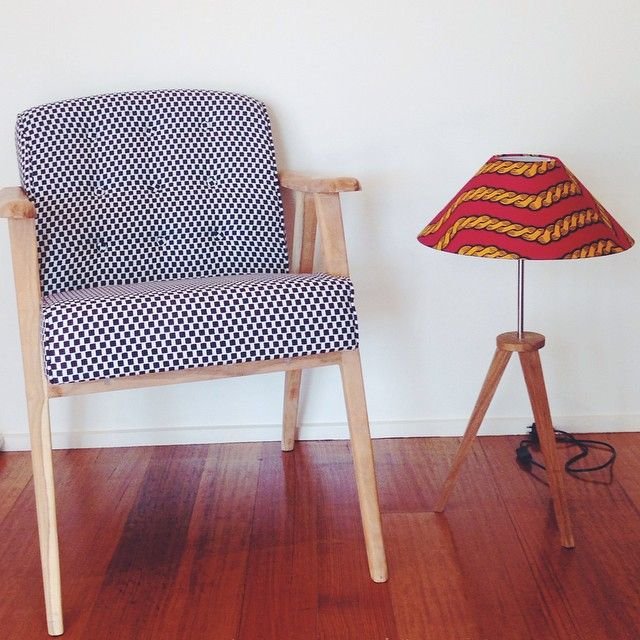B. Dakin furniture has arrived! On the website and #etsy shortly. #bdakin #ankara #aftochic #colour #bright #pattern