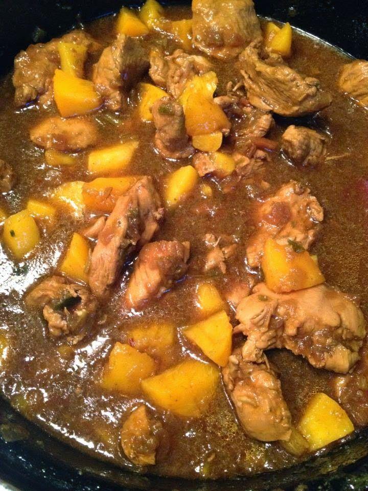 Lekker eten met Marlon: Pilaf met kip, perzikken, ketjap en rijst