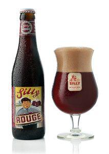 Silly Rouge Belgian beer by Brasserie de Silly