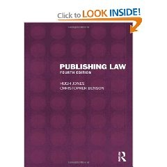 BOOKS--Publishing Law