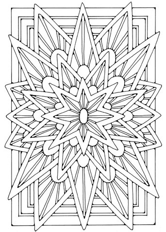 35 best MANDALA images on Pinterest | Coloring pages, Coloring books ...