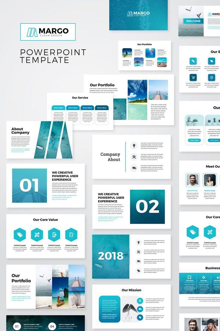 Margo Modern Presentation Powerpoint Template Business