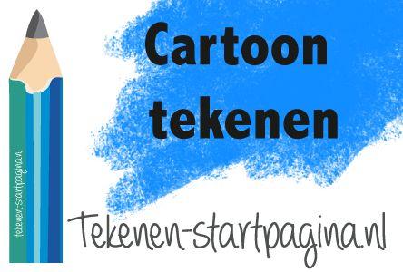 Leer cartoon tekenen aan de hand van deze tutorial! Meer op tekenen-startpagina.nl voor oneindig tekenplezier!