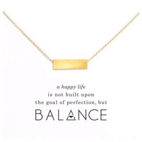 DF15-18K-Gold-amp-Silver-Dipped-Dainty-Balance-Bar-Necklace-amp-Card