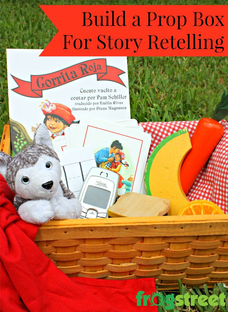 Build a Prop Box for Story Retelling. 3 other ways to help enrich literacy lessons. Preschool Reading Activities