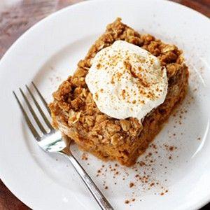 Pumpkin Crisp | Sweet Treats and Baked Goods | Pinterest | Safflower ...