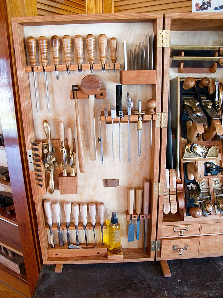 Woodworking Tool Cabinet Layout - WoodWorking Projects & Plans