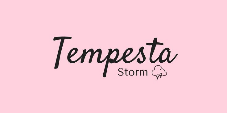 Learning Italian Language ~ TEMPESTA (STORM) IFHN