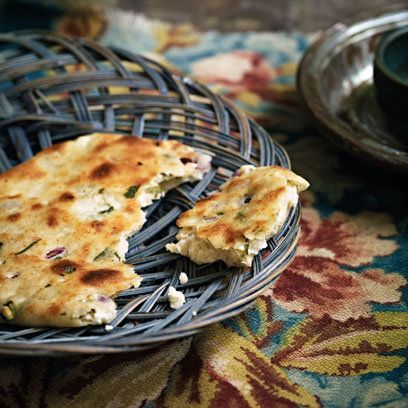 Best Ever Grilled Naan from Anjum Anand. For video step-by ...