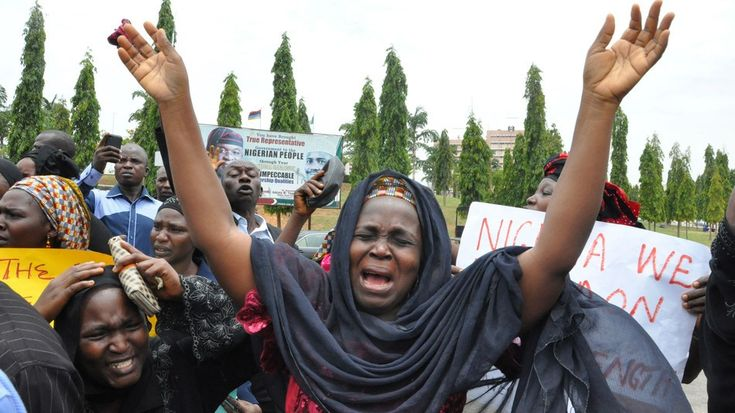 Nigeria-missing-girls-mother.   Bring Back Our Girls: Why the World Is Finally Talking About Nigeria's Kidnapped Students