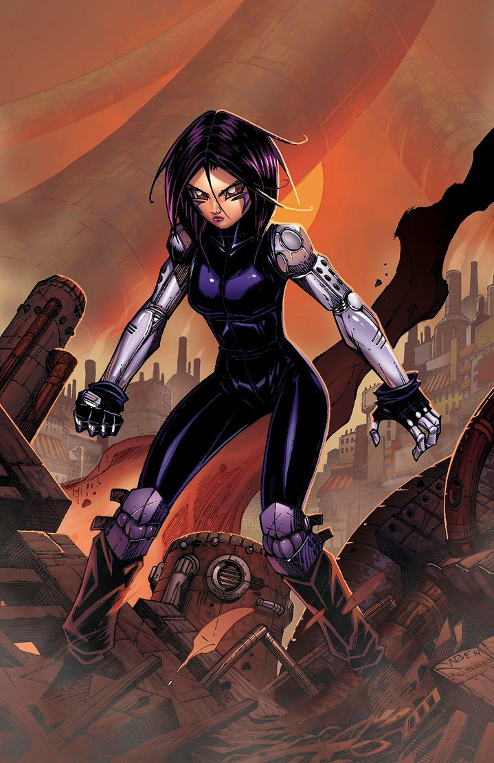 Battle Angel Alita by olivernome on deviantART The Rise