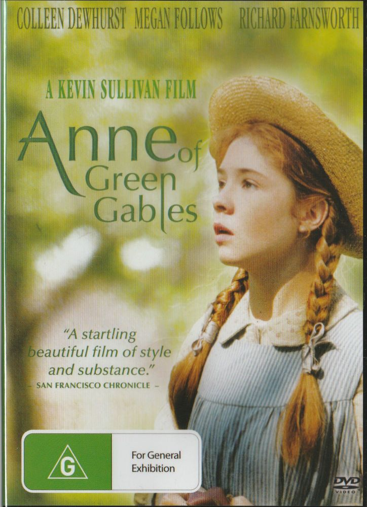 ANNE OF GREEN GABLES DVD - NEW & SEALED