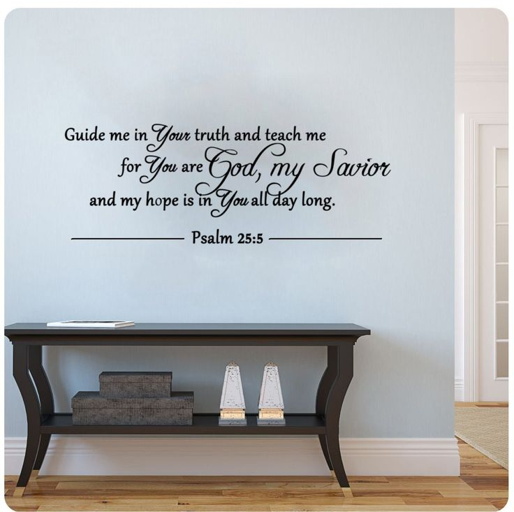 17 best images about bathroom decorations ideas on for Biblical wall decals ideas