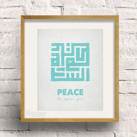 Peace Be Upon You Digital Print