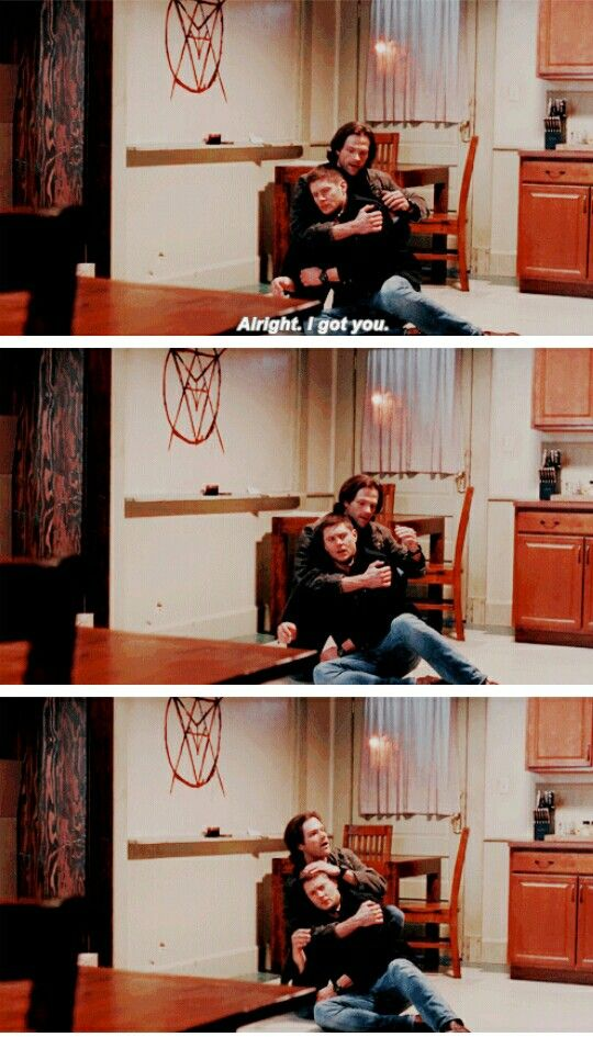 Supernatural Season 11x16 Safe House. I cannot get over this cuteness!!