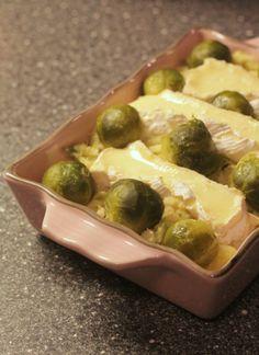 FOODBLOGSWAP: Ovenschotel met spruitjes en camembert