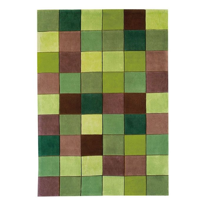 Asiatic Eden 10 Pixel Green Rug