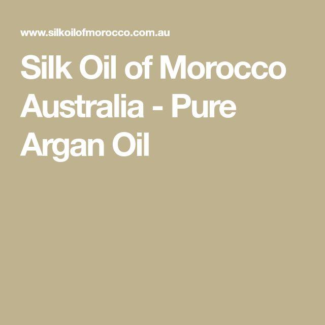 Silk Oil of Morocco Australia - Pure Argan Oil