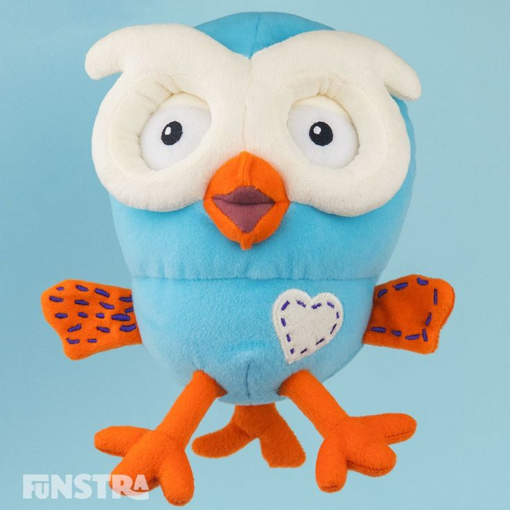 Hoot Beanie Soft Toy from Hoot Hoot Go and Giggle and Hoot