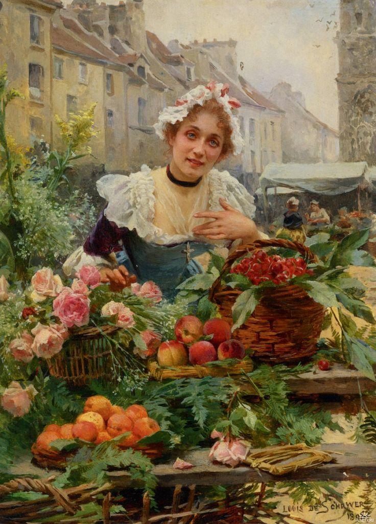 Цветочницы Парижа