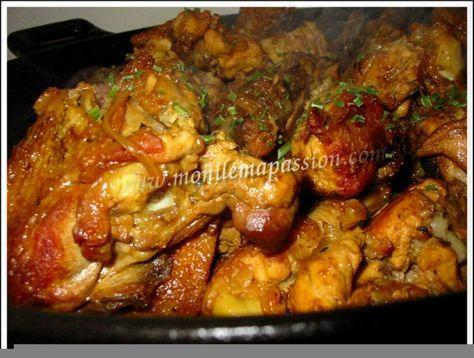 """750g vous propose la recette """"Cari de poulet"""" publiée par plume_d_argent."""