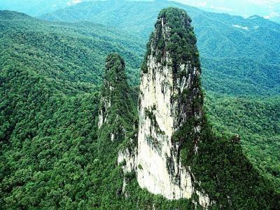 tebing Lawit. Putussibau, West Kalimantan. 800 meter high, granite