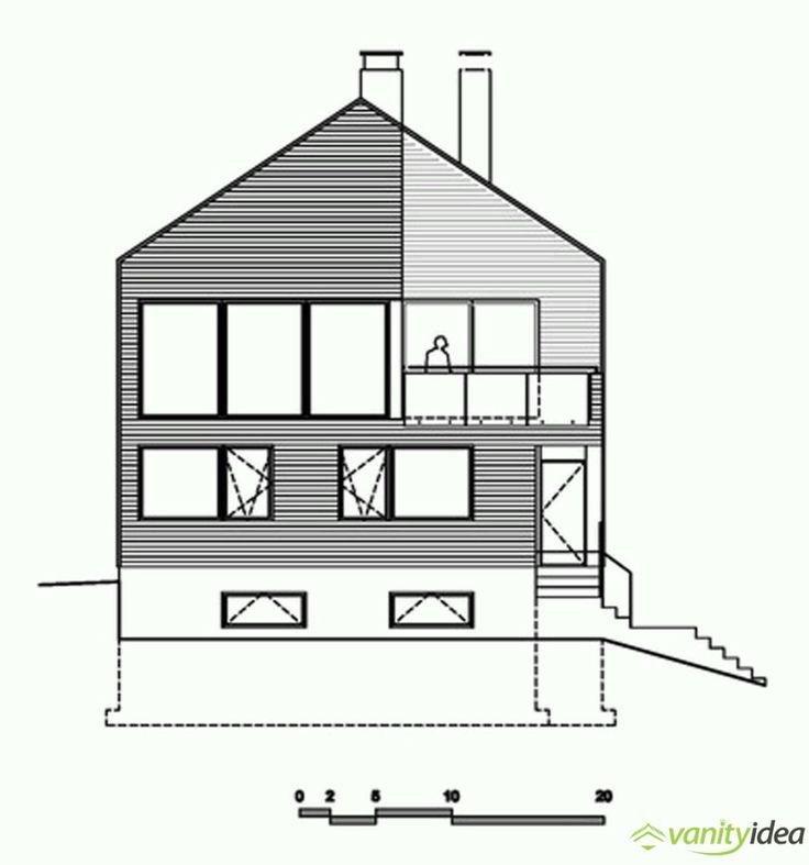 exterior house sketch