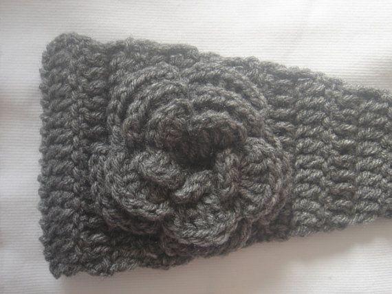 40 best Crochet Flowers, Crochet Headbands, Headwraps, Earwarmer ...