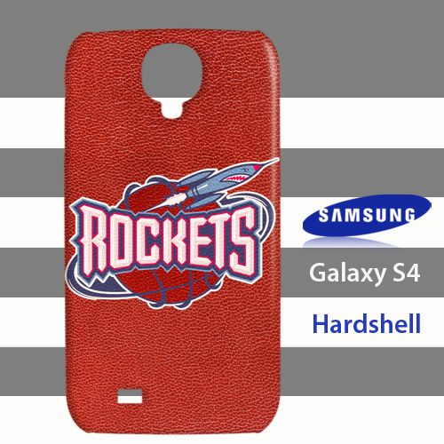 Houston Rockets Leather Samsung Galaxy S4 Case Cover