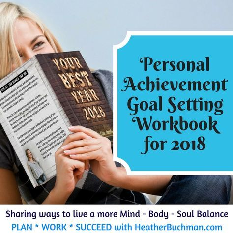 I am so passionately about setting goals for your future, because I know that writing them down helps you achieve them. That is why, I am writing today as afriendly reminder that my favorite personal achievement goal setting workbook,