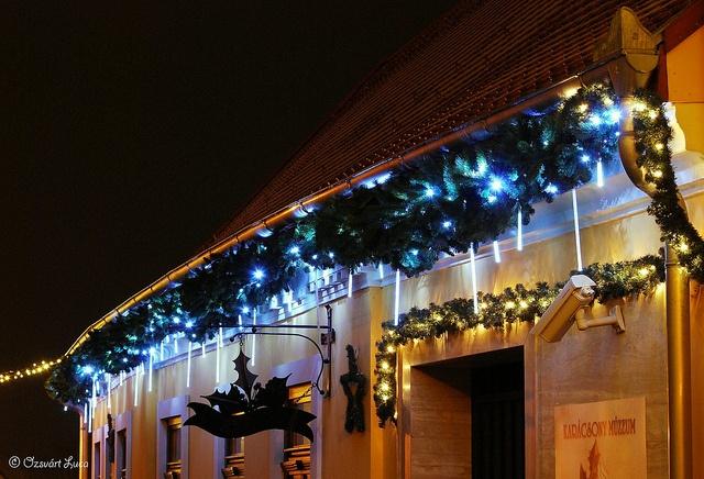 Szentendre by night
