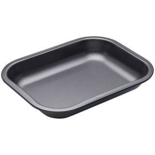 MASTERCLASS OPEN ROASTING PAN WITH SLOPED SIDES - 27CM