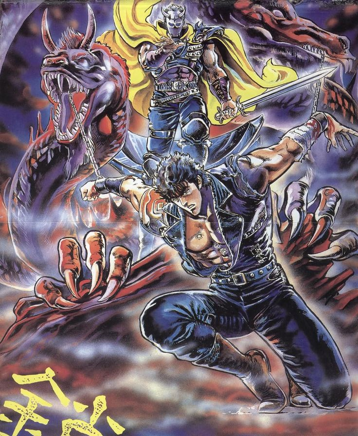 563 Best Hokuto No Ken/Fist Of The North Star Images On