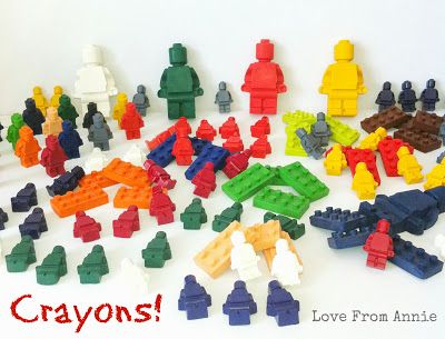 Love From Annie: Lego Crayons