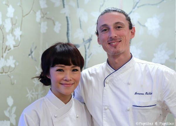 Harmony et Jérôme Billot - Dan restaurant Bordeaux