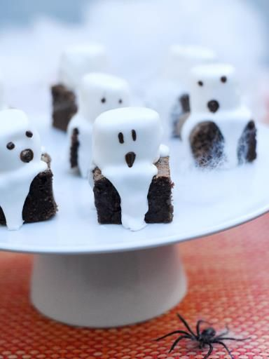 Brownies fantômes : Recette de Brownies fantômes - Marmiton