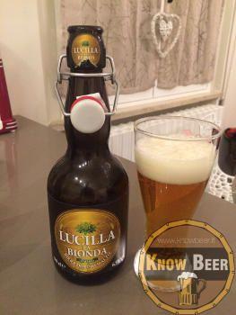Birra Lucilla la Bionda prodotta dal Birrificio Amarcord di Apecchio