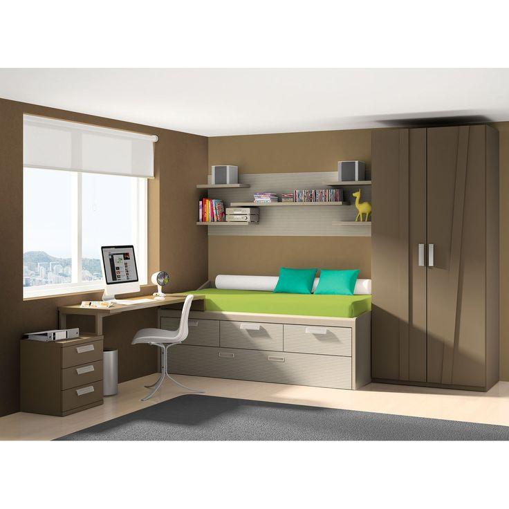 17 mejores ideas sobre dormitorio de joven varon en - Dormitorio juvenil doble ...