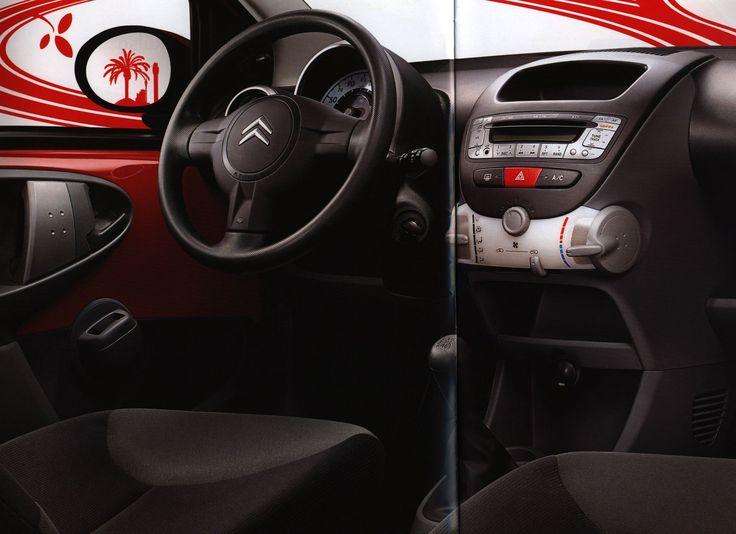 https://flic.kr/p/ESus1C | Citroen C1 interior;  2005_3 | car brochure by worldtravellib World Travel library