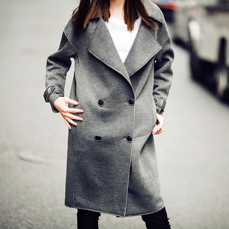 Plus Size Women Outwear Trench Coat  #men #clothing #clothes #sweaters #shoping #scarves #online #accessories #women #jackets
