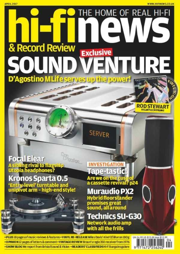 Hi-Fi News - April 2017 English | 140 pages | True PDF | 42 MB Every issue, Hi-Fi News delivers uniquely in-depth reviews of high-end audio equipment, inc
