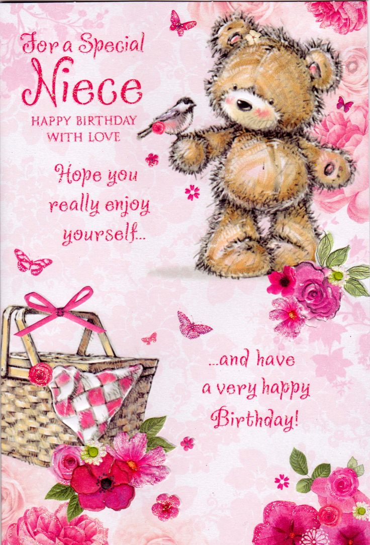 Happy Birthday Niece Images For Facebook ~ Birthday invitations card happy greetings to st