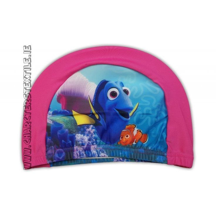 Disney Finding Dory swimming hat /cap Pink   Lightweight easy stretch Spandex fabric which is quick drying and machine washable Girls Disney Finding Dory swimming hat pink