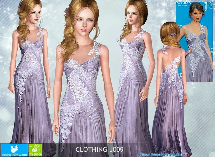 Sims 3 blue dress barn