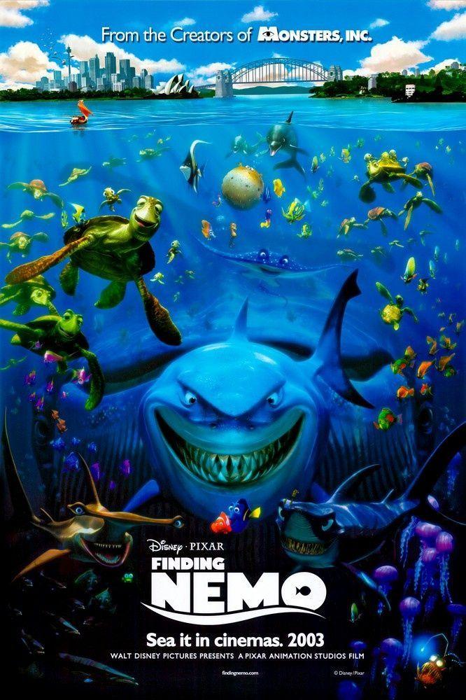 Finding Nemo (2003) Finding nemo movie, Nemo movie