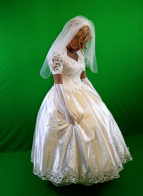 The transgender bride on tumblr shemale brides in there for Lingerie for wedding dress