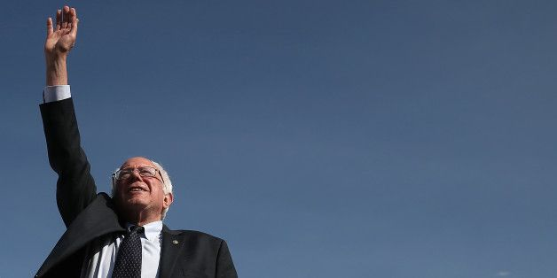 """. Senator Bernie Sanders, known in Washington and throughout the nation as an advocate for middle class Americans, veterans, the environment, and other cherished causes can win crucial electoral votes just as easily as Hillary Clinton.  Finally, we're all asking a question that we've been too frightened to ask, for fear of seeming unrealistic:""""Why Not Bernie?"""""""