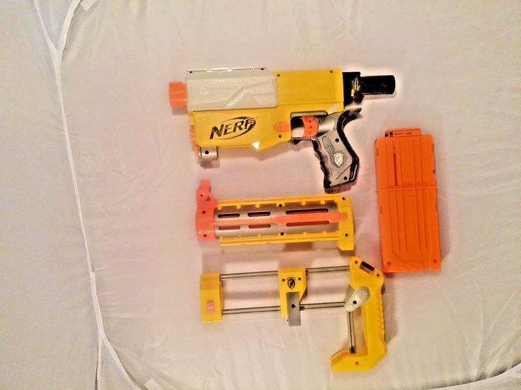 2007 Nerf N-Strike Recon CS-6 with Magazine Very Good Used #NERF