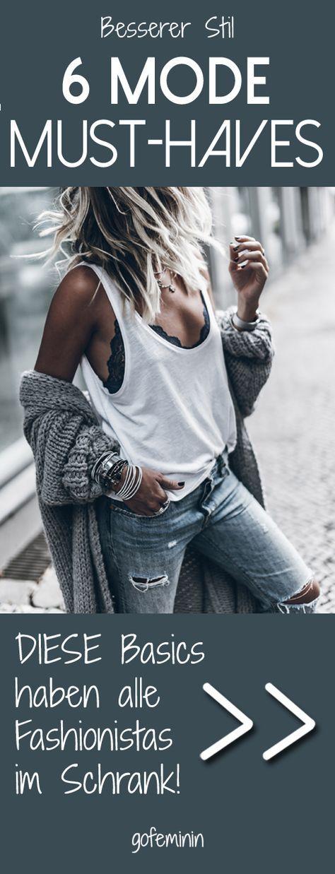 Diese 6 Basics haben ALLE Frauen mit einem guten Stil im Schrank!